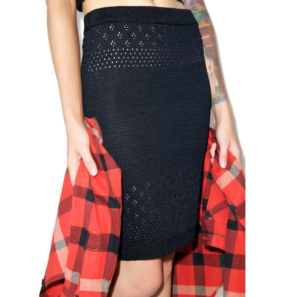 For Love & Lemons Soul Pencil Skirt