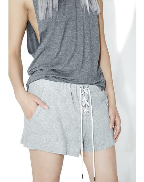 Balboa Lace-Up Shorts