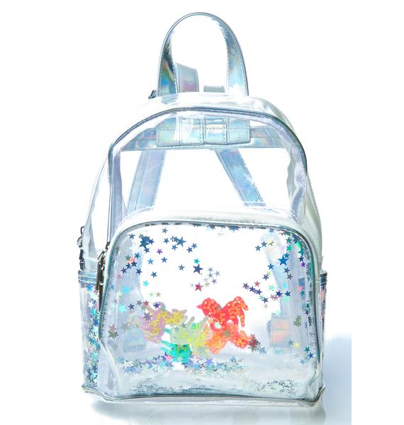 Current Mood Unicorns R Watchin' Backpack