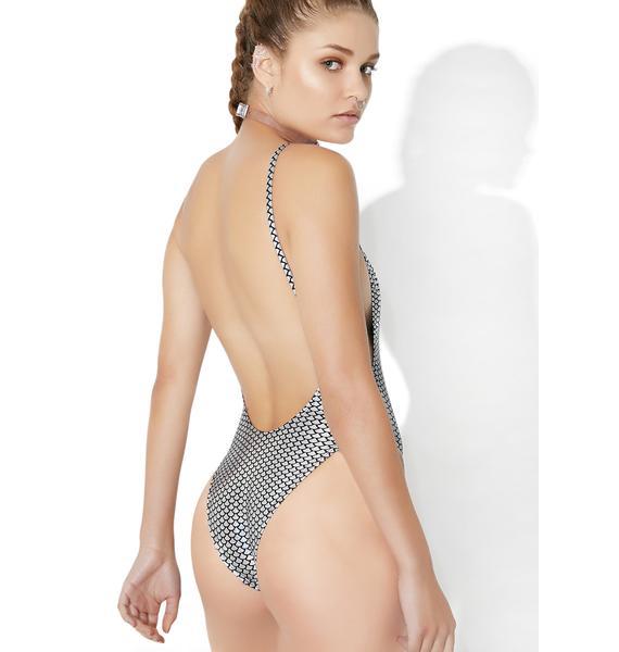 Jaded London Cami High Leg Swimsuit