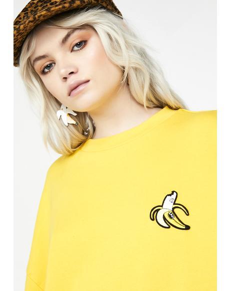 Banana Sweatshirt