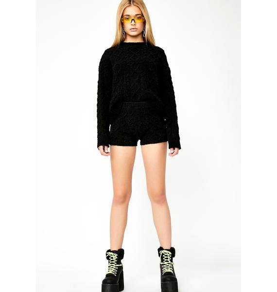 Lady Of Leisure Knit Shorts