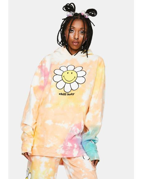 Chill Baby Tie Dye Hoodie