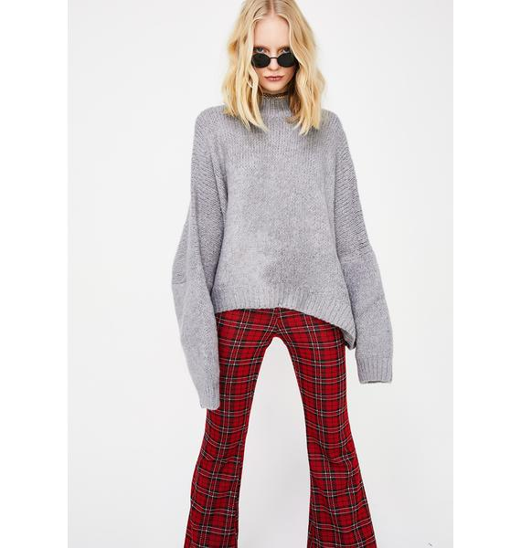 No Plans Knit Sweater