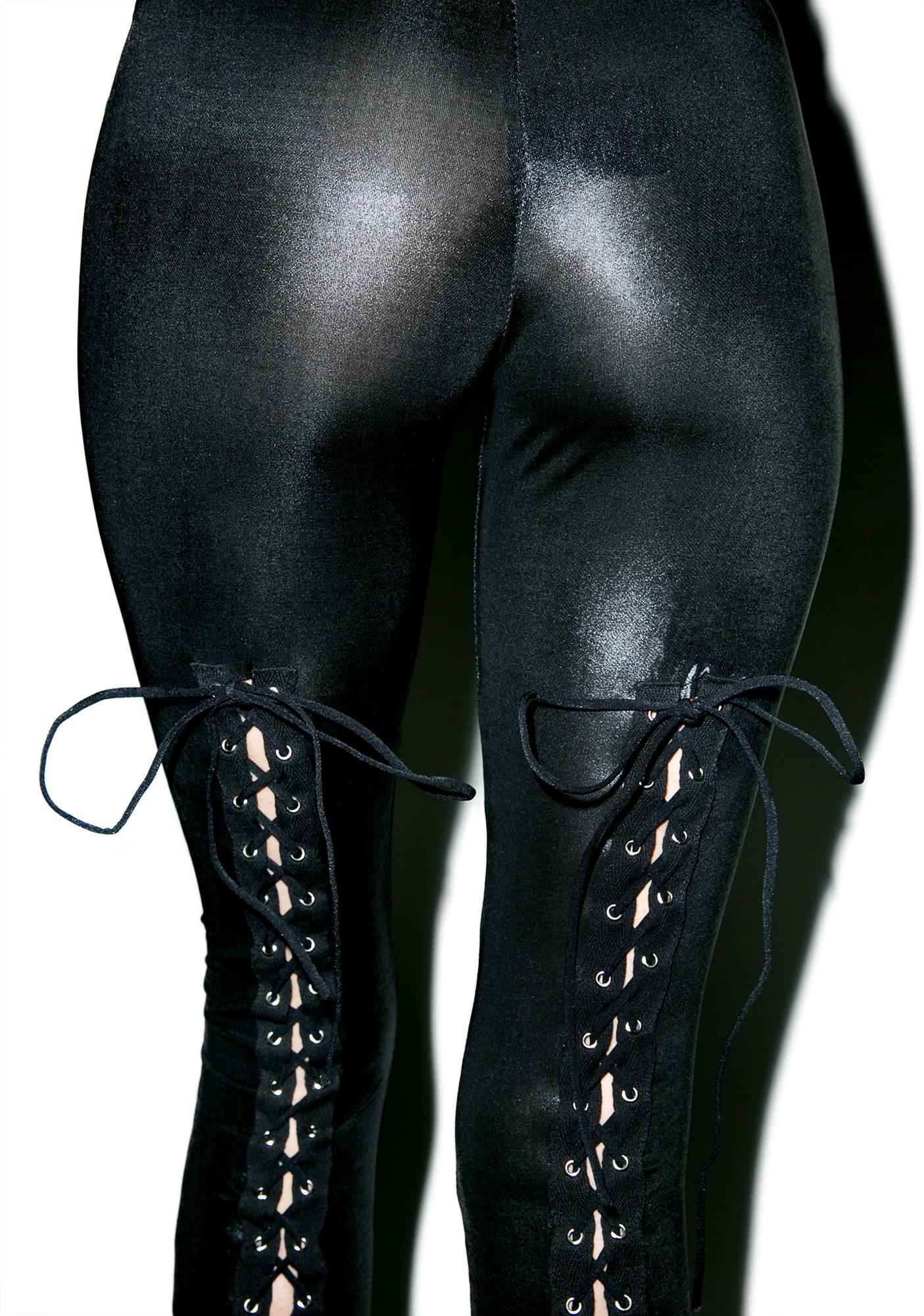 Shakedown Lace Up Leggings