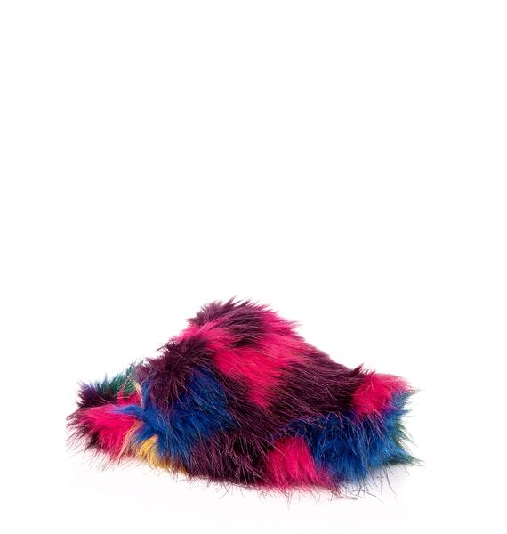 Lust For Life Furry Slippers