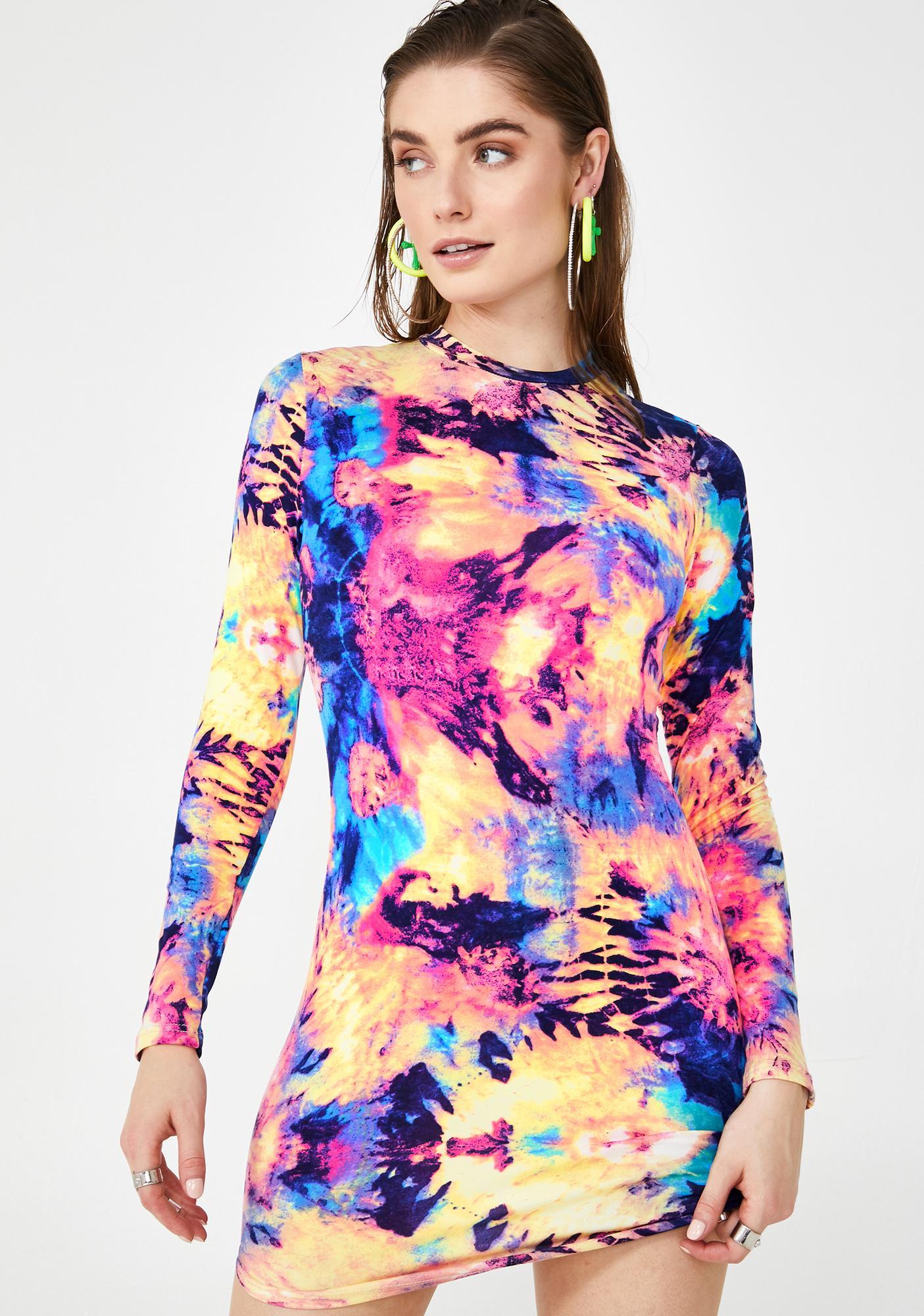 Trip With Me Tie Dye Dress