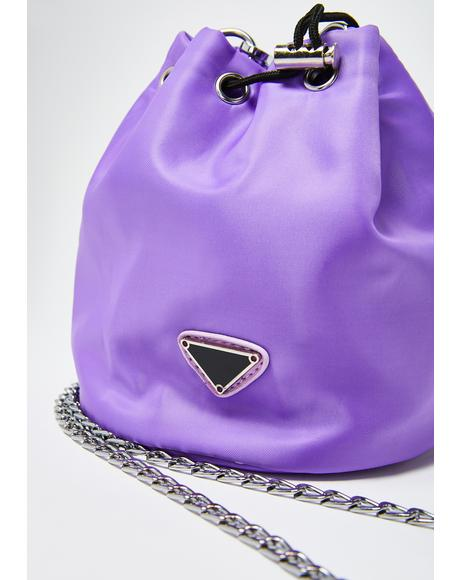 Plum Pass By Bucket Bag