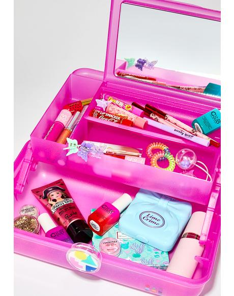Hot Pink On-The-Go Girl Case