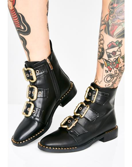 Bond Buckle Boots
