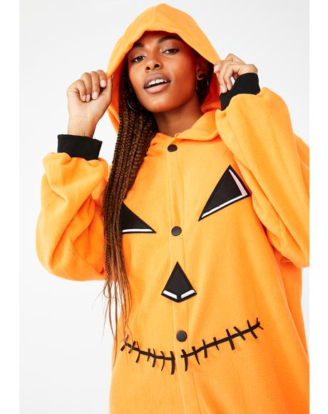 Sweet Pumpkin Onesie Costume