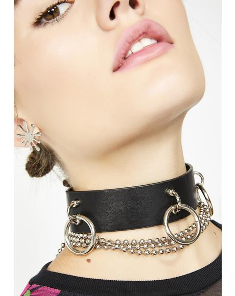 The Ring Choker Necklace