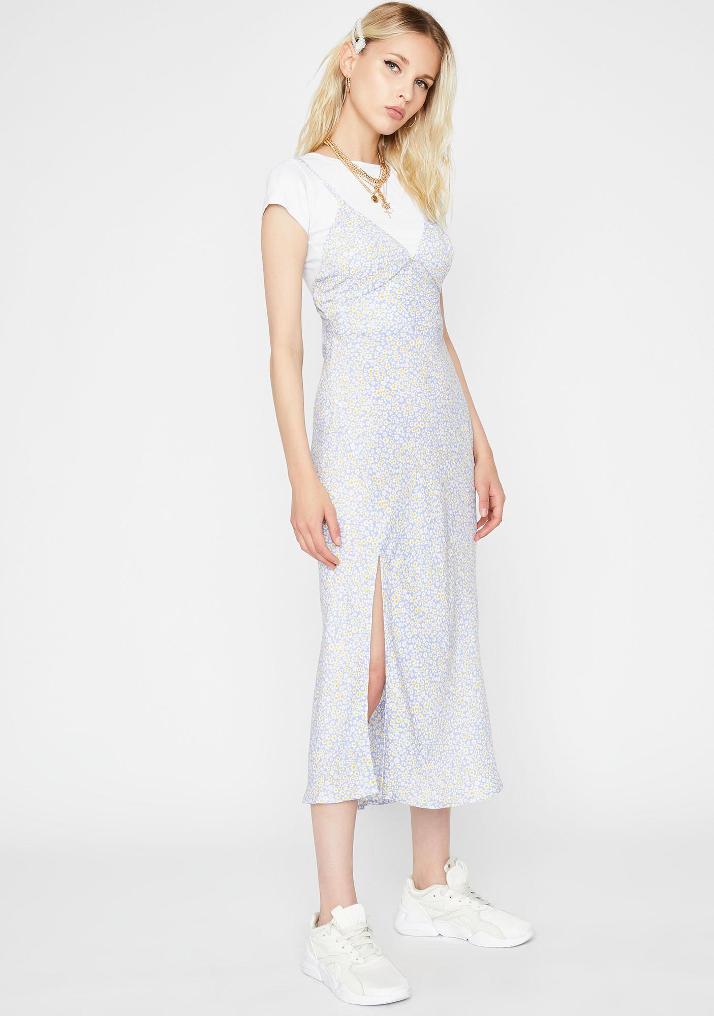 Garden Angel Floral Maxi Dress