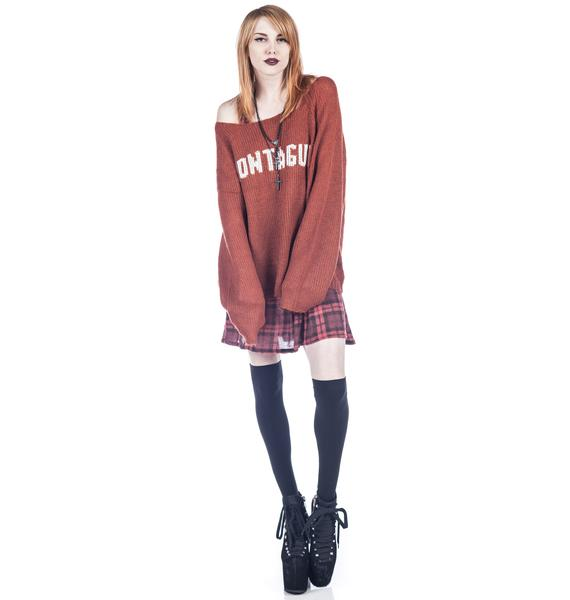 Wildfox Couture Montague Penny Lane Sweater