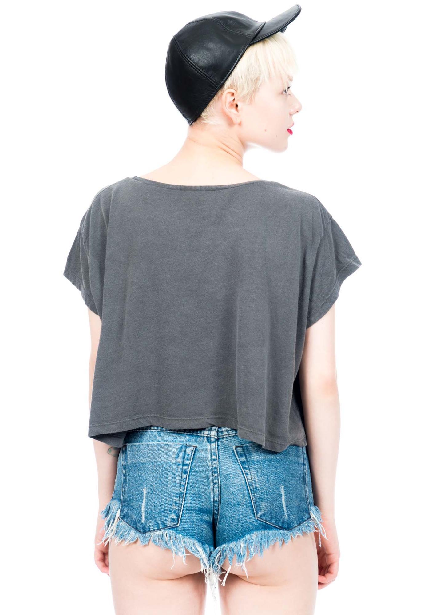 Civil Clothing Tri Faith Crop Top