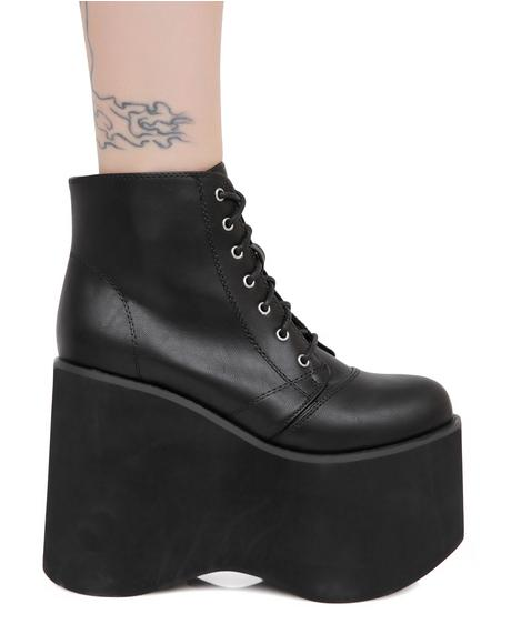Shock Waves Platform Boots