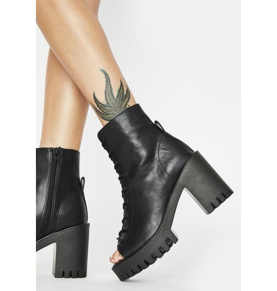 Public Desire Bassline Ankle Boots