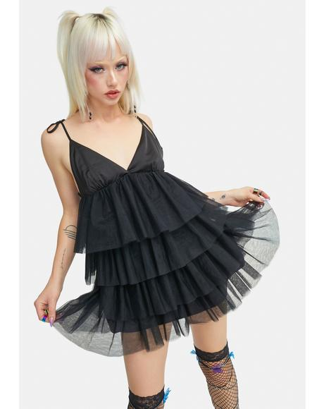 Anti Tulle Tank Dress
