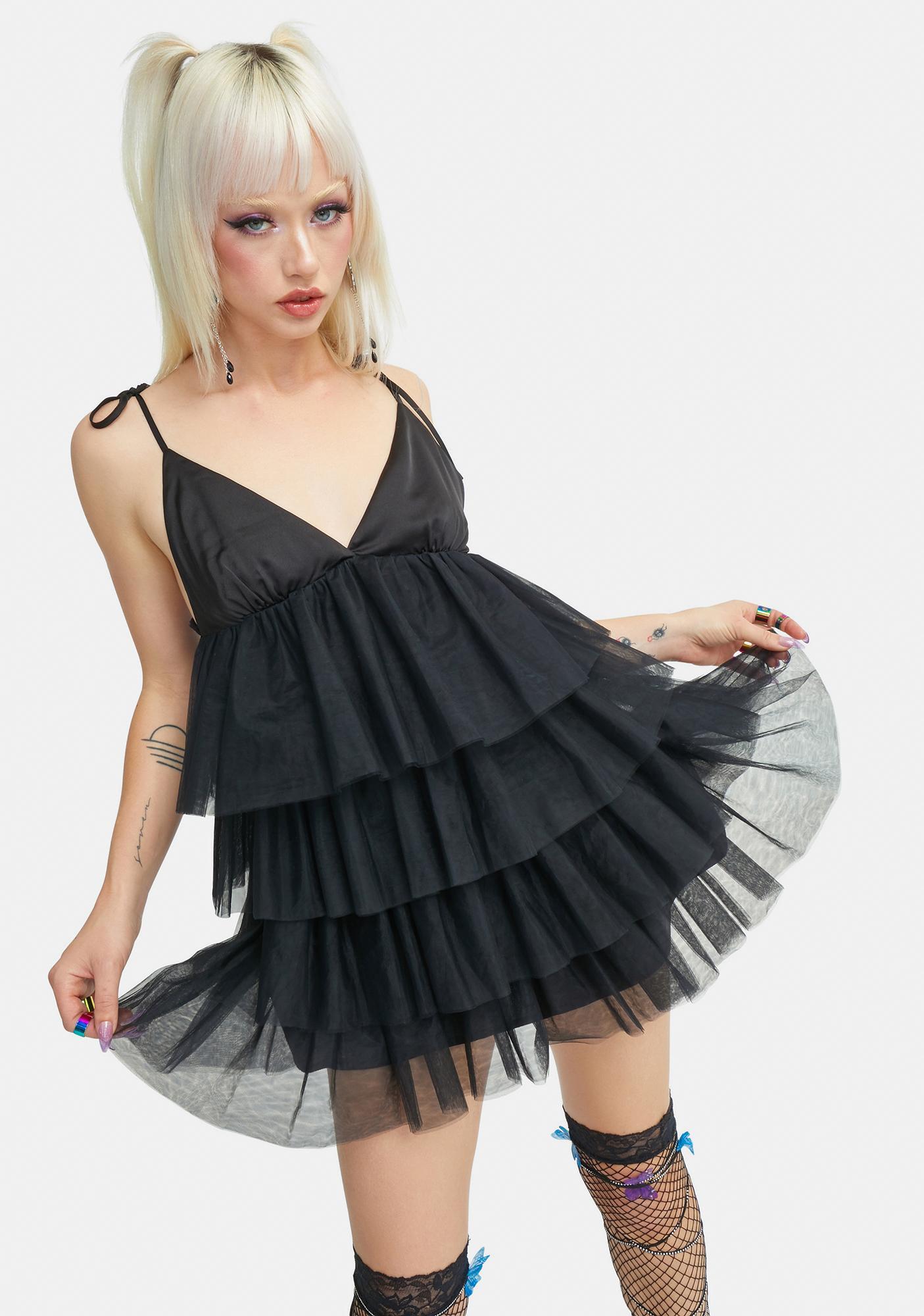 Current Mood Anti Tulle Tank Dress