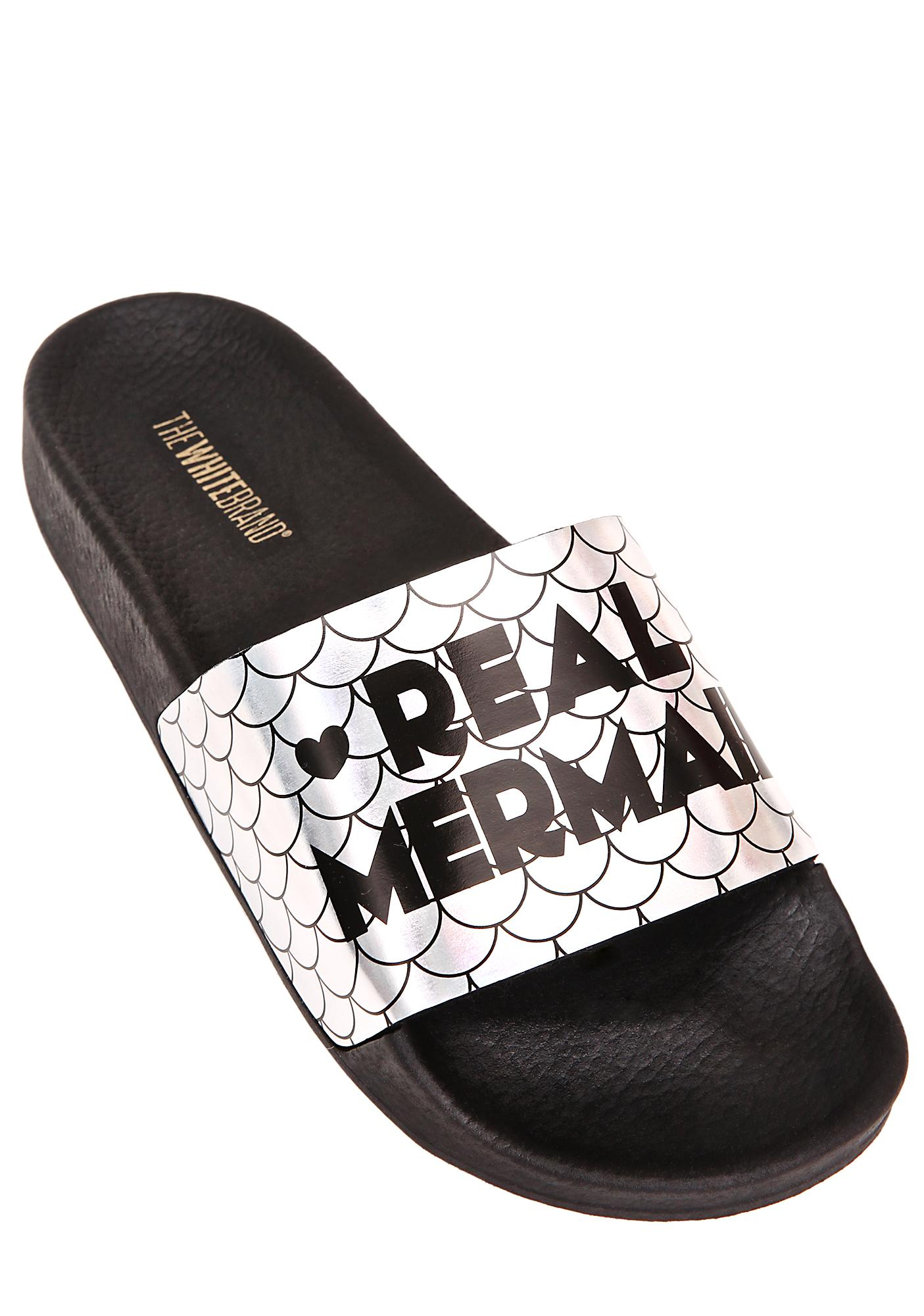 The White Brand Real Mermaid Slides