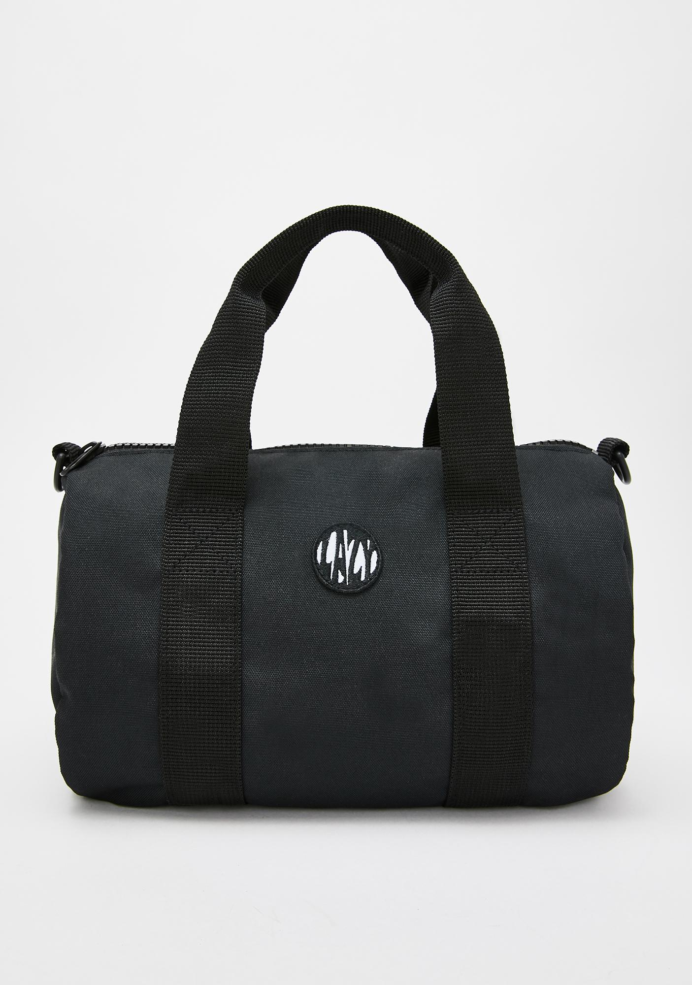 Lazy Oaf Happy Sad Mini Duffel Bag