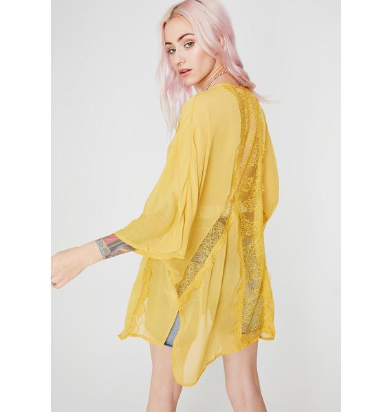 Feelin' Free Sheer Kimono