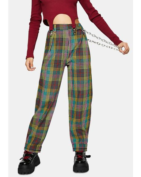 Doofus Multi Check Pants