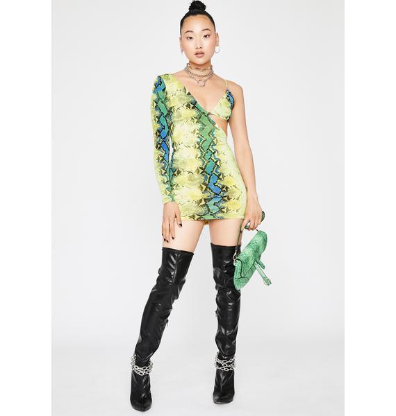 Hissin' Hottie Mini Dress
