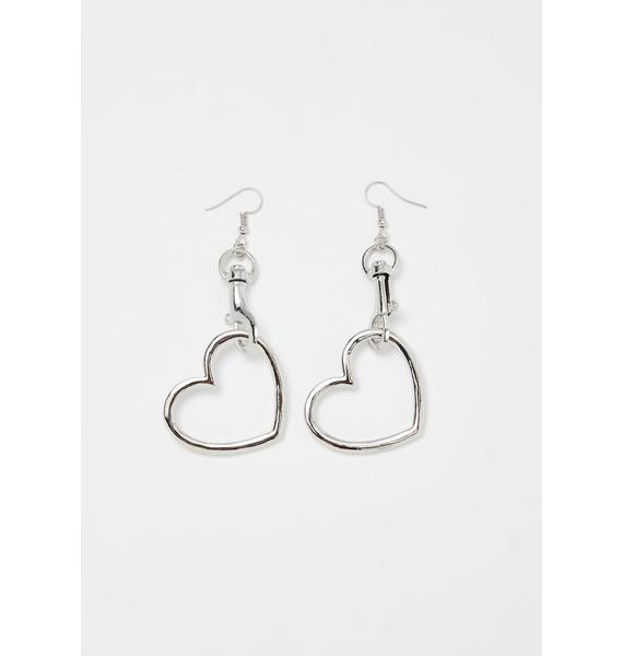 Love Connection Heart Earrings