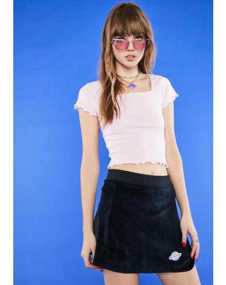 No Boys Allowed Tennis Skirt
