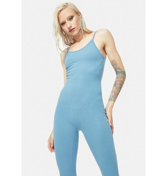 Cornflower Nothing To Hide Catsuit