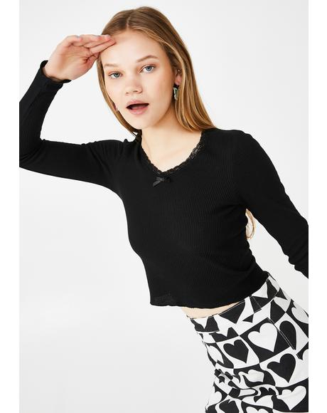 So Yesterday Knit Top