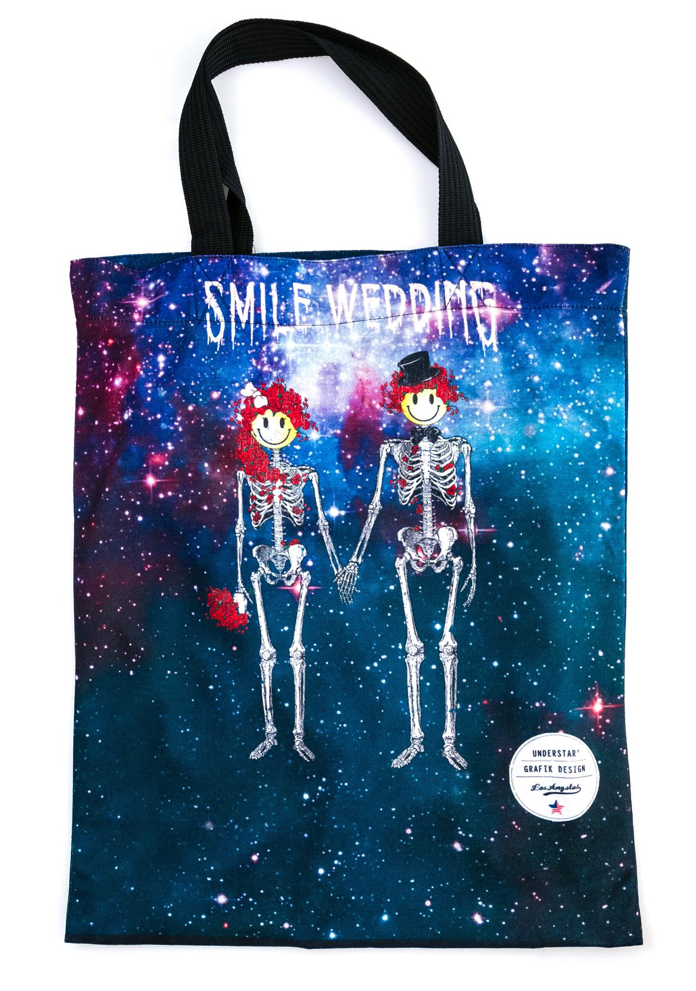 Married With Skeletons Tote Bag