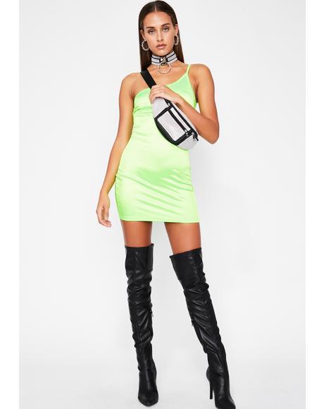 Babe On Fire Mini Dress