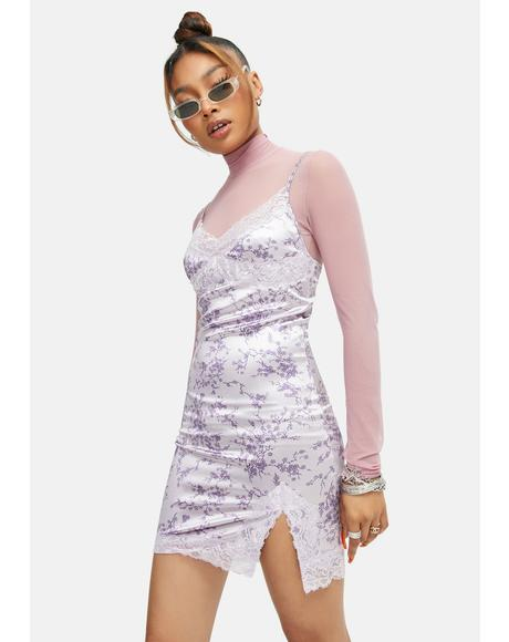Sakura Blossom Coti Mini Dress