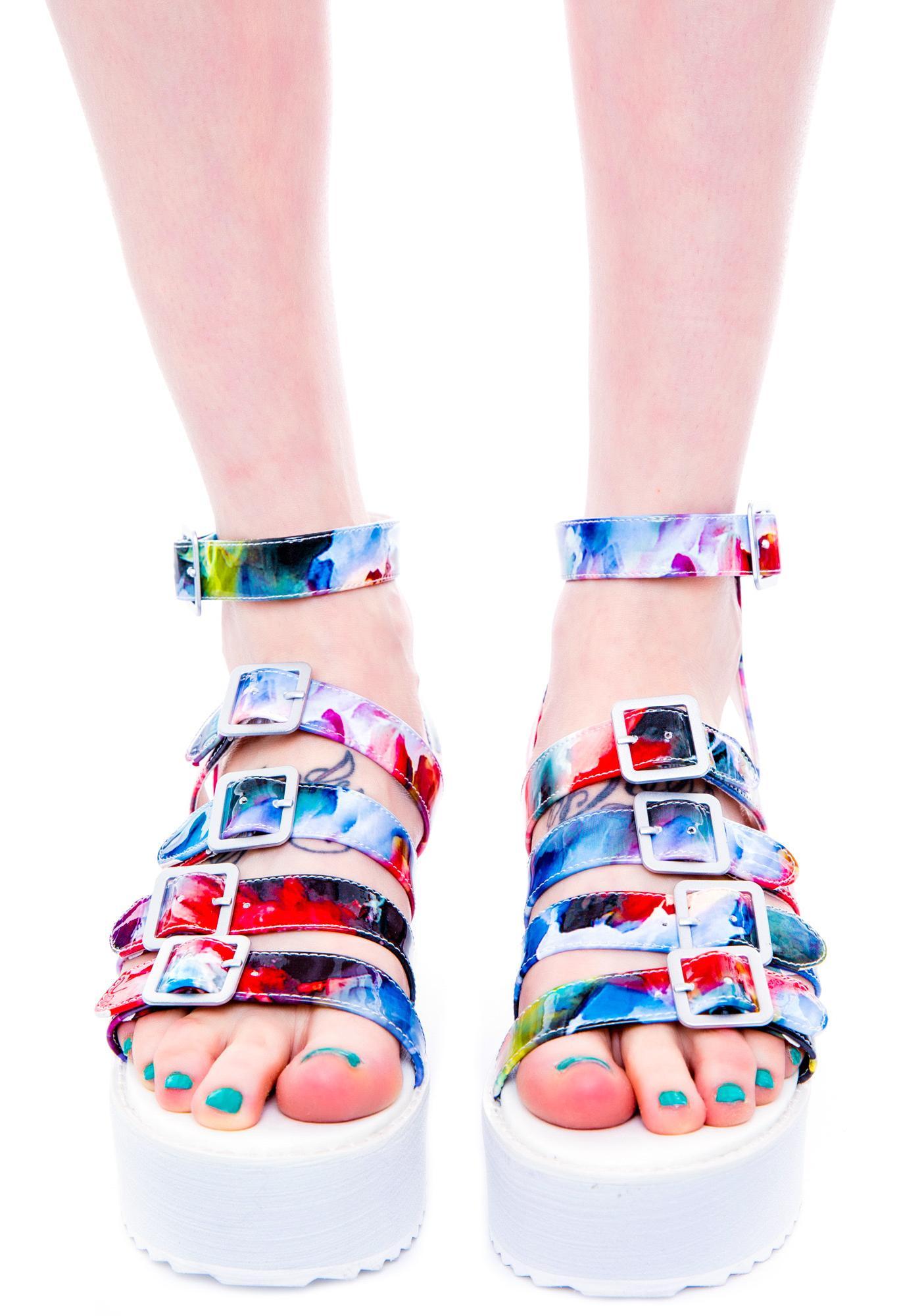 Y.R.U. Oasis Platform Sandal
