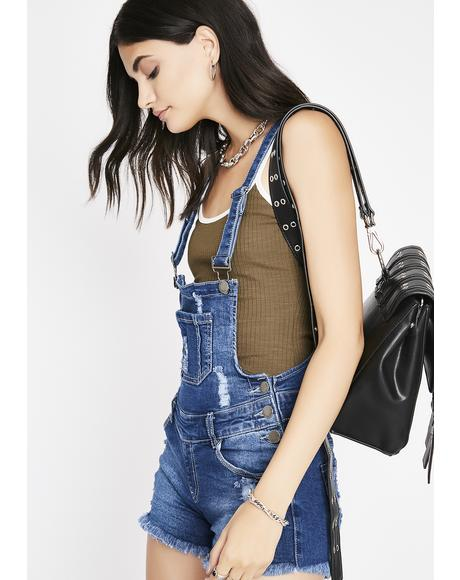 The Plug Denim Shortalls