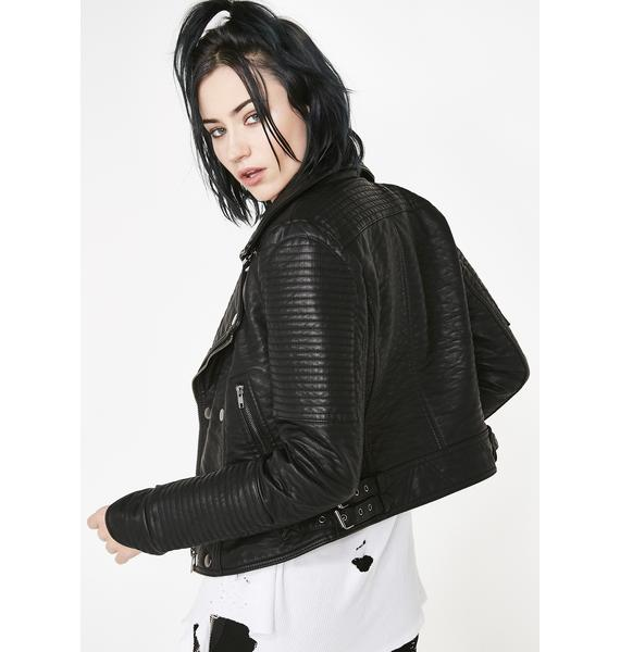 Current Mood Renegade Action Moto Jacket