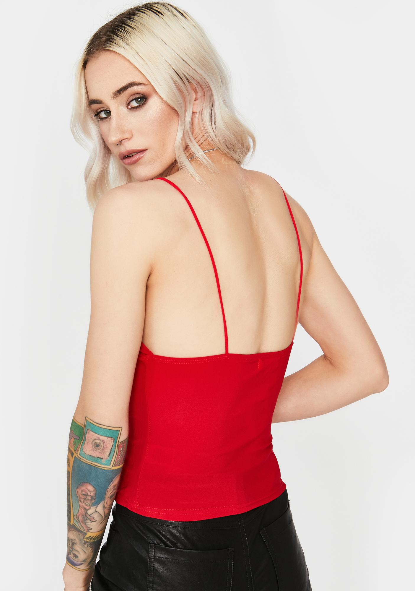 Hot Fake Out Cami Top