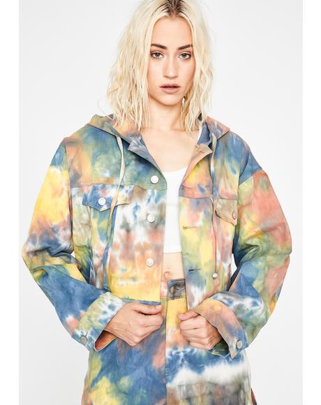 Wild Energy Tie Dye Jacket