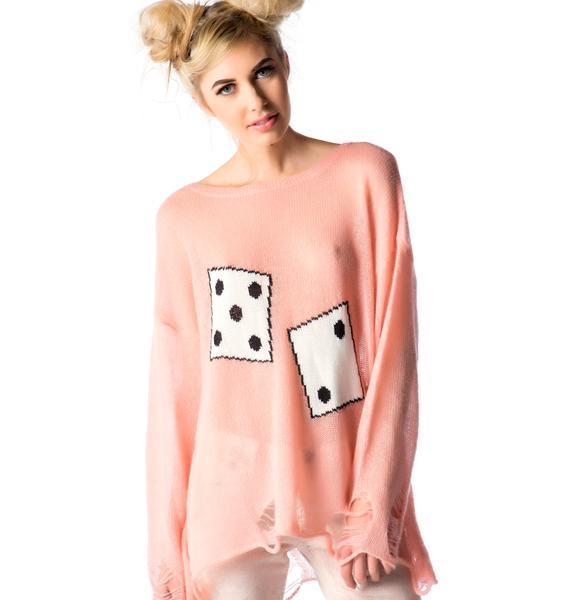 Wildfox Couture Domino Effect Lennon Sweater