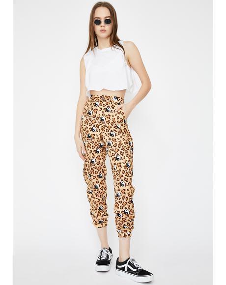 Leopard Yin Yang Utility Joggers