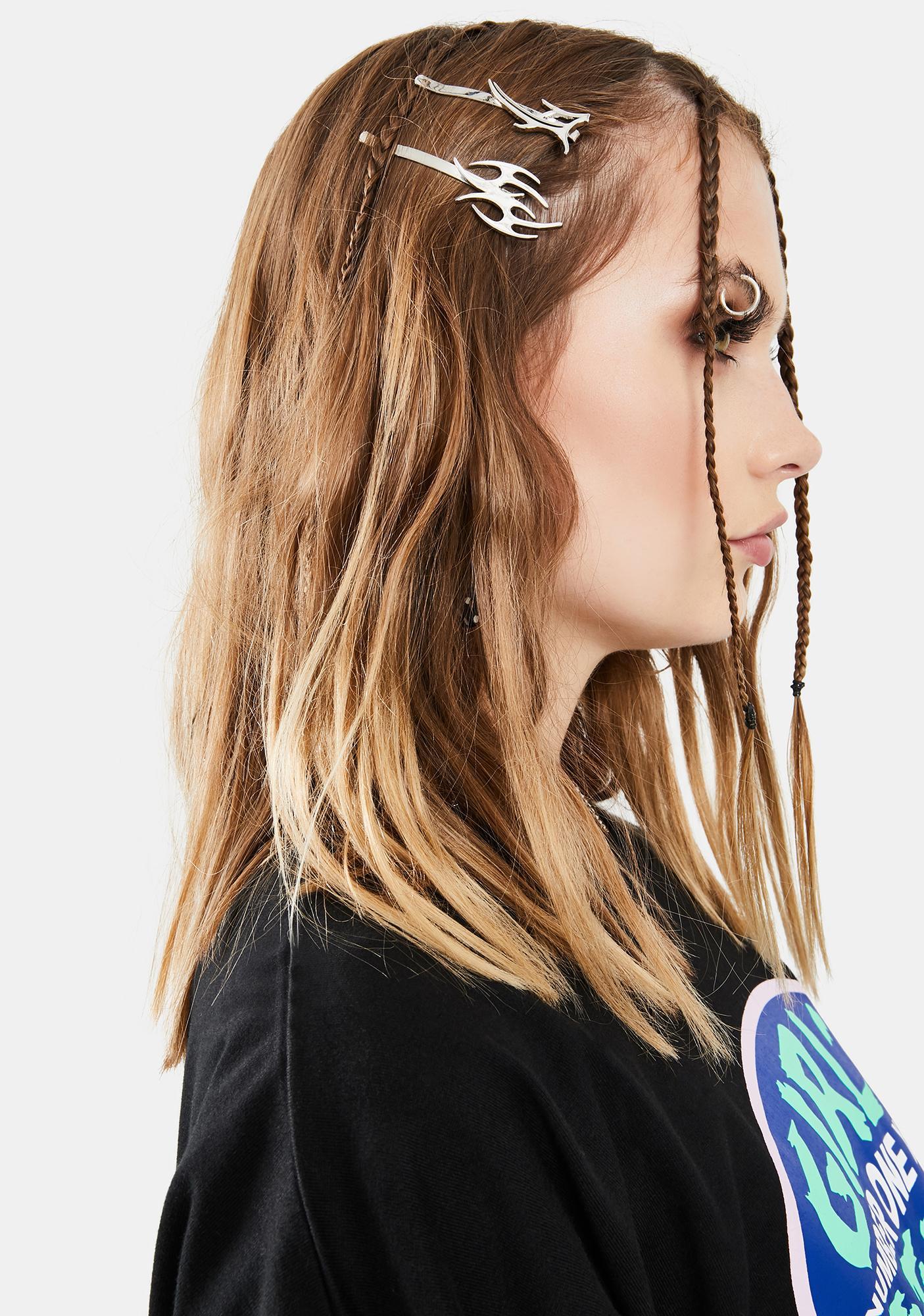 Lil Fire Starter Hair Clip Set