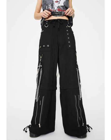 Chain To Chain Studded Pants