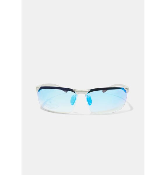 Marine Action Star Frameless Sunglasses