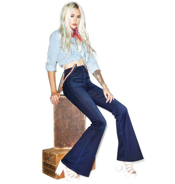 Gypsy High Rise Bell Bottoms