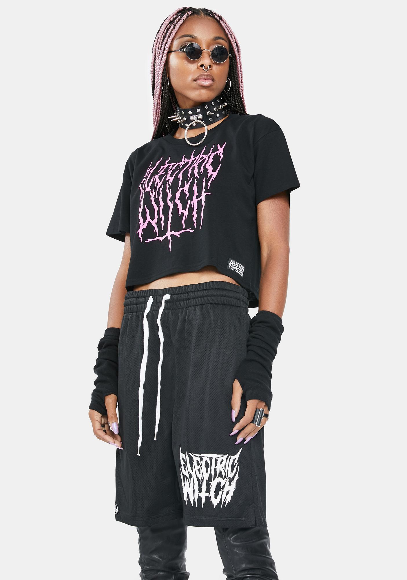 Electric Witch Nancy Gym Shorts