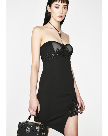Under Pressure Strapless Dress