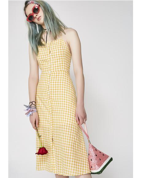 Bee'z Kneez Midi Dress