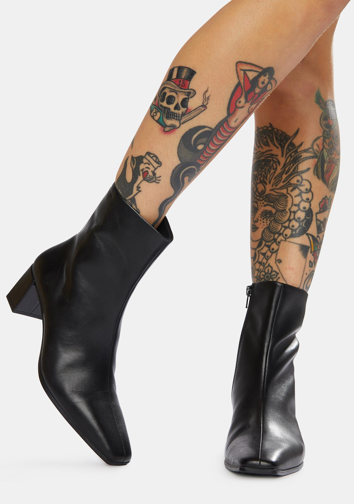 VAGABOND SHOEMAKERS Tessa Leather Ankle Boots